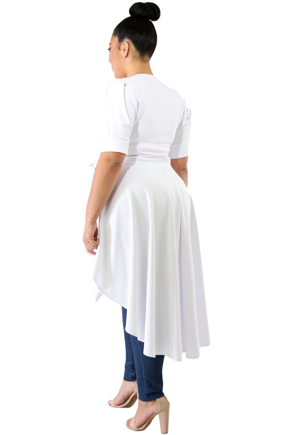 White-Puff-Long-Tail-Plus-Size-Top-LC251